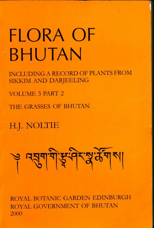 FLORA OF BHUTAN VOLUME 3 PART 2