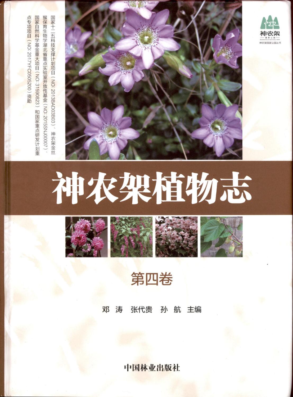 神农架植物志 第四卷