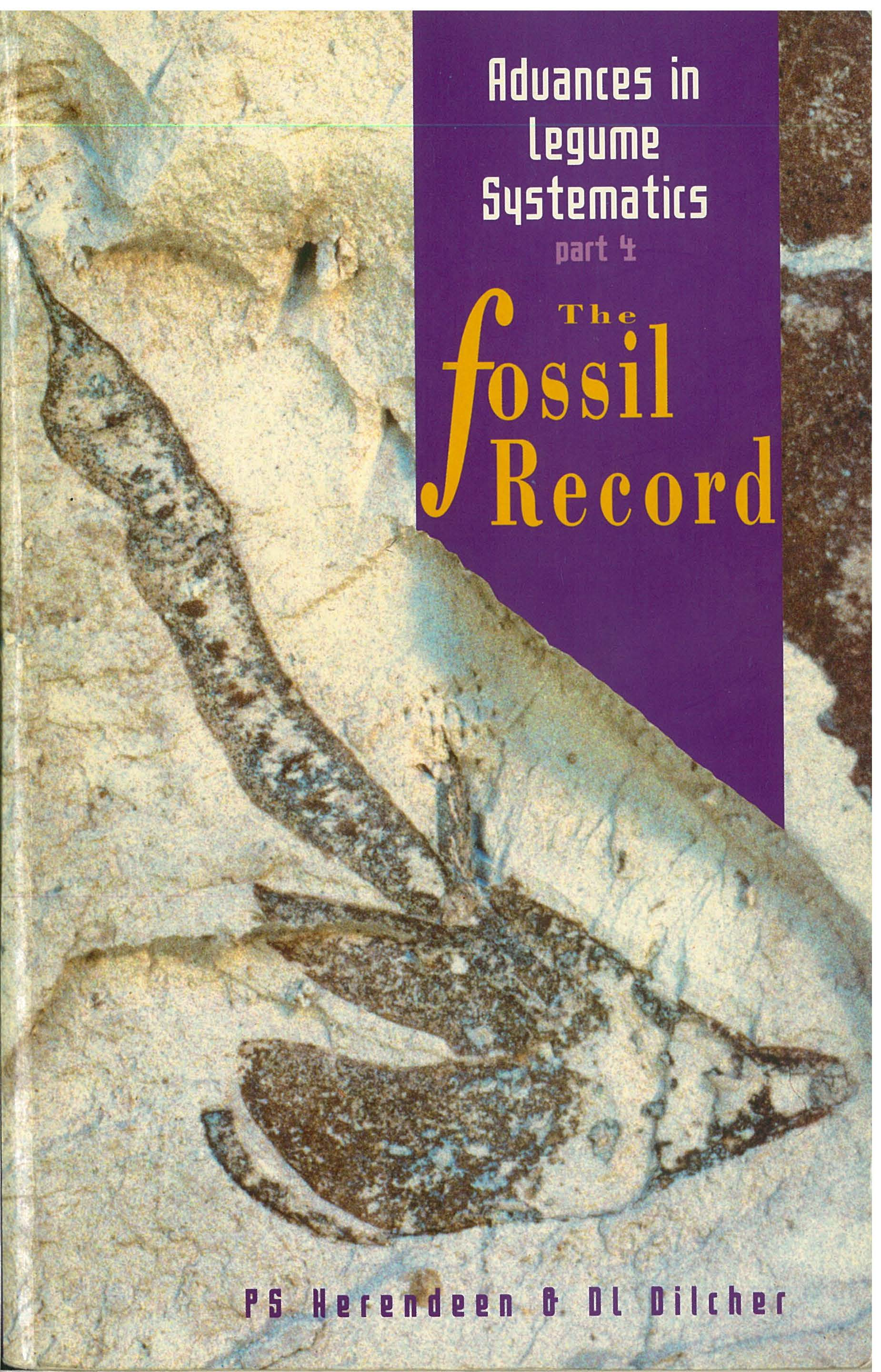 Advance in Legume Systematics part 4 The fossil Record
