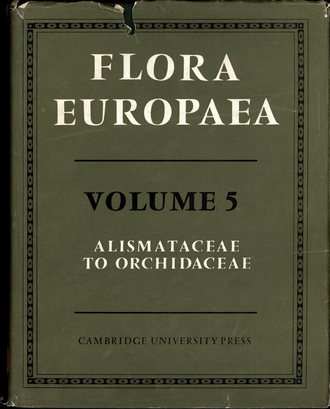 FLORA EUROPAEA VOLUME 5